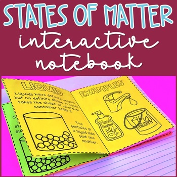 States of Matter: Solid, Liquid, and Gas Interactive Noteb