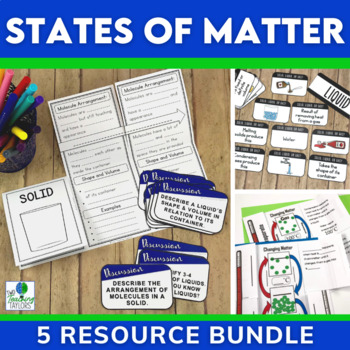State of Matter Activities Bundle