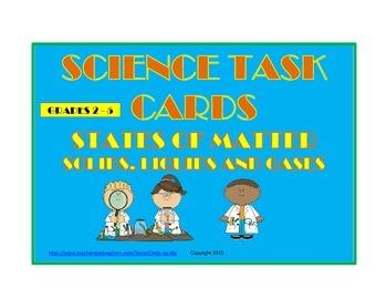 States of Matter Task Cards