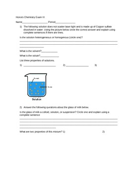 States of matter and physical peoperties test