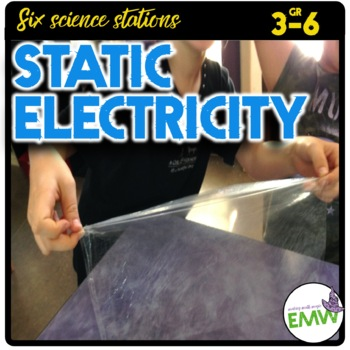 Static Electricity Hands On Science Centers or  Stations