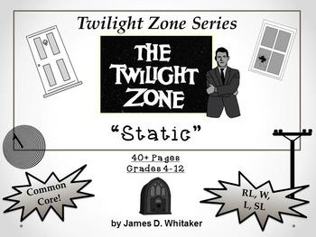 Static Twilight Zone Episode Unit Resource Common Core