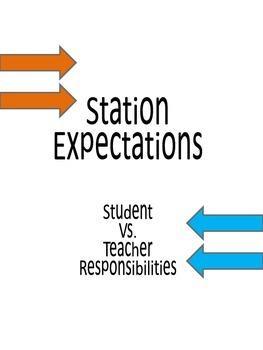 Station Student & Teacher Expectations