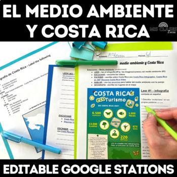 Cultural Stations: Medio Ambiente y Costa Rica