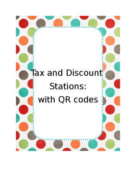 Stations for Tax and Discount