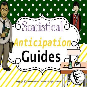 Statistical Anticipation Guides