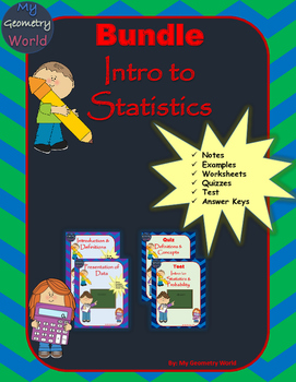 Statistics Bundle: Introduction to Statistics