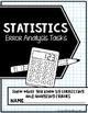 Statistics Error Analysis