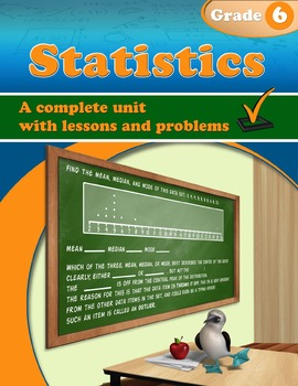 Statistics, Grade 6