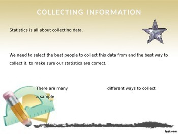 Statistics Sampling Powerpoint Presentation