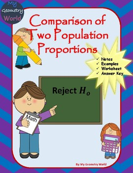 Statistics Worksheet: Comparison of Two Population Proportions