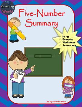 Statistics Worksheet: Five-Number Summary