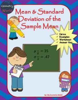 Statistics Worksheet: Mean & Standard Deviation of the Sam