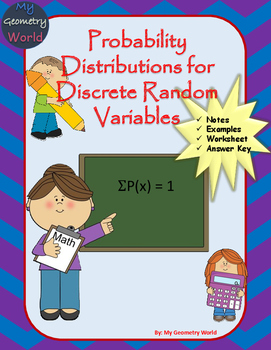 Statistics Worksheet: Probability Distributions for Discre