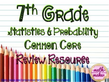 Statistics and Probability Differentiated Resource ~ 7th G