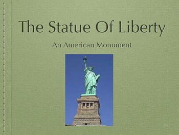 Statue Of Liberty Slide Presentation