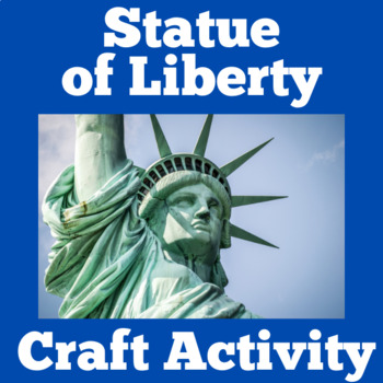 Statue of Liberty Activity | Statue of Liberty Craft