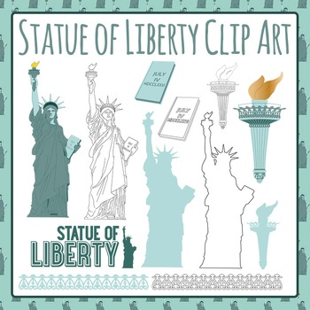 Statue of Liberty Clip Art Pack for Commercial Use