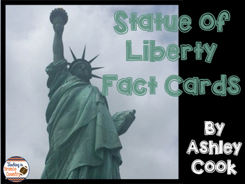 Statue of Liberty Fact Cards