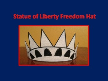 Statue of Liberty Freedom Hat