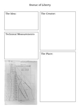 Statue of Liberty History Notebooking Pages