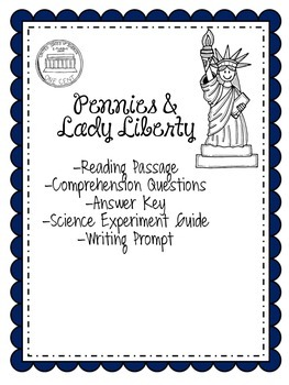 Statue of Liberty Bundle: Reading/Writing/Science