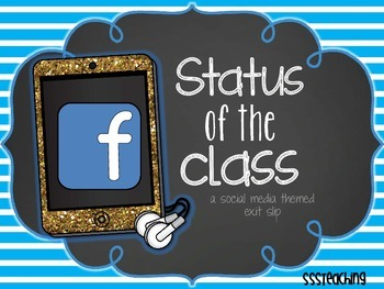 Status of the Class EXIT SLIP for ANY SUBJECT