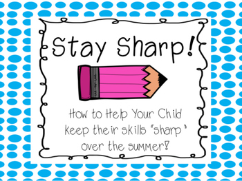Stay Sharp Over the Summer