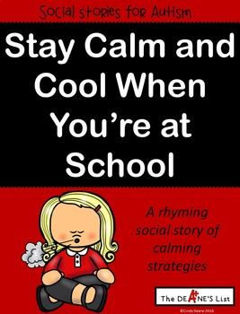 Social Stories for Autism: Stay calm and cool when you're