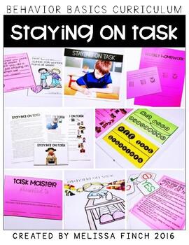 Staying on Task- Behavior Basics Program for Special Education