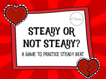Steady or Not Steady Beat Game {Freebie}