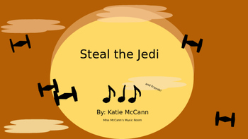 Steal the Jedi-Syn-co-pa: A Star Wars Inspired Game
