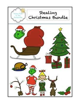 Stealing Christmas Graphic Bundle