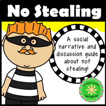 Stealing Social Story and Discussion Guide