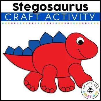 Stegosaurus Cut and Paste