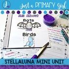 Stellaluna Book Study- Book Companion - A Bat and Birds Mini Unit