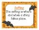 Stellaluna Comprehension Freebie!!  {Character, Setting, P