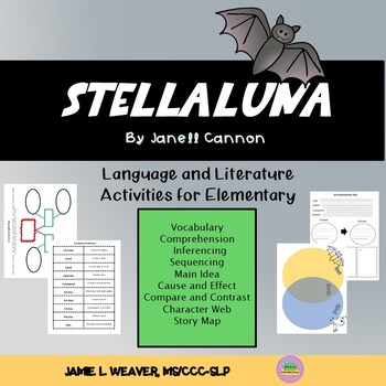 Stellaluna Language Literacy Activity Packet