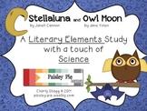 SCIENCE: 'Stellaluna' & 'Owl Moon' Literary Elements & Sci