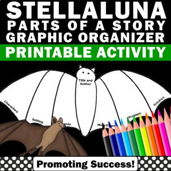 Stellalluna Graphic Organizer Parts of a Story Elements Ha