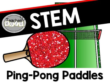 Stem Challenge: A Game of Ping-Pong (Printables & DIY)