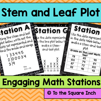 Stem and Leaf Stations