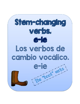 Stem-changing verbs e-ie. BUNDLE PACKET. REALIDADES 2 1A.