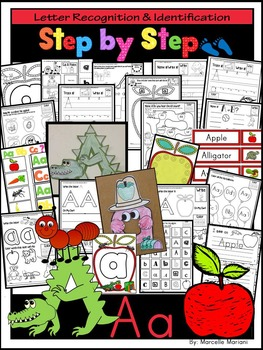 Letter of the week-LETTER A Activity PACK-letter recogniti