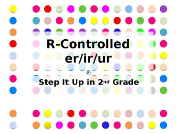 Step It Up in Second: R-Controlled Blends