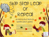 Step, Skip, Leap, or Repeat? Fall Themed Interactive Inter