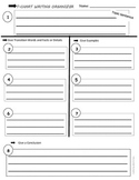 Writing T-Chart/Graphic Organizer