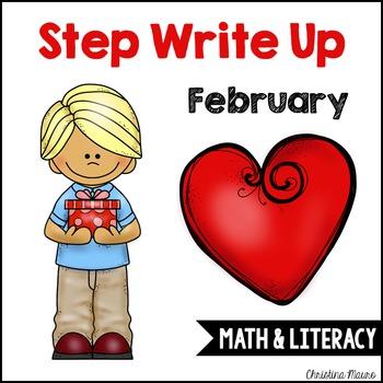 Step Write Up - February Write the Rooms {Math & Literacy}