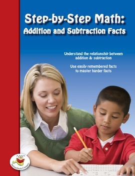 Step-by-Step Math: Addition and Subtraction Facts Part 6