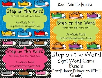 Step on the Word BUNDLE, Pre-Primer, Primer and First Grad